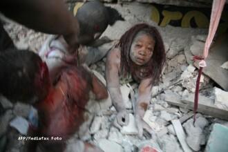 Romanii infiaza copii orfani, victime ale cutremurului din Haiti