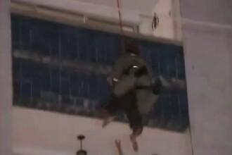 Sinucigas, salvat in ultima clipa de un pompier! VEZI VIDEO!
