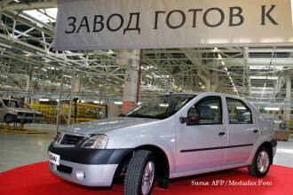 Loganul a depasit Ford Focus pe piata din Rusia