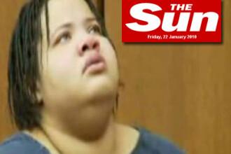 Un american de 68 de kg a sfarsit sub cele 136 ale iubitei sale