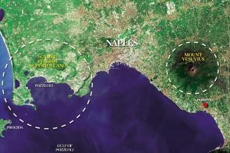 Campi Flegrei - vulcanul care daca ar erupe ar sterge Europa de pe harta!