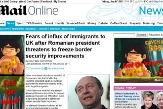 Daily Mail: Sunt temeri legate de un aflux al imigrantilor romani