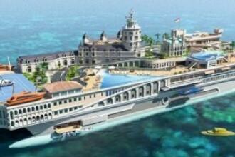 Principatul Monaco s-a mutat pe mare! Vezi cel mai TARE yacht din lume