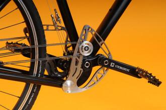 Inventie epocala. Bicicleta fara lant uimeste prin siguranta si fiabilitate
