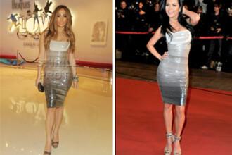 O imita Inna pe Jennifer Lopez? Surprinsa a doua oara in tinuta ca a divei