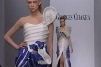 Zeite, nimfe si rochii exotice la Saptamana Modei de la Paris! Video