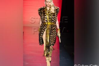 E femeie sau barbat? Modelul care a facut senzatie in colectia Gaultier