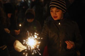 Entuziasm si speranta.Romanii au intrat in noul an cu ganduri bune si ceva regrete pentru cel trecut