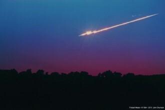 Primul fenomen astronomic al anului 2013.