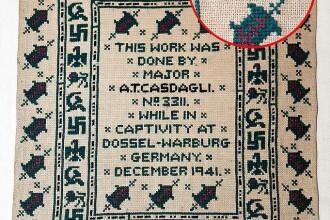 Cea mare mare jignire la adresa lui Hitler, ascunsa intr-o carpeta. Nazistii au crezut ca e un cadou
