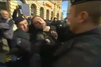 Croatii au iesit si ei in strada, dar din alt motiv: nu vor sa intre in UE. Violente la Zagreb