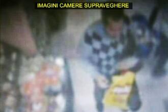 Un francez, prins cand fura din geanta unei pensionare romance intr-un magazin din Bucuresti. VIDEO