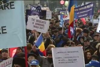 Mesajul jandarmilor inaintea protestelor de marti