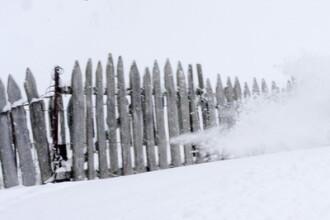 Iarna ataca cu un ger ucigas. 3 persoane au murit, iar alte zeci de romani au ramas blocati in casa