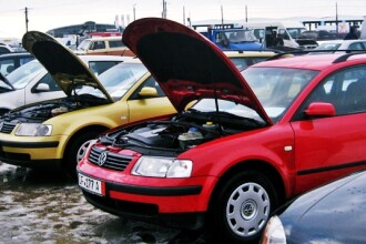 Guvernul schimba din nou taxa auto:Taxa de prima inmatriculare auto inlocuita cu una de mediu