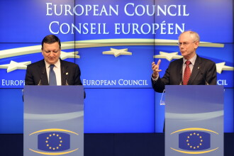 Primul summit UE din 2012, sub amenintarea RECESIUNII. CNN: Italia si Spania par sa-si revina