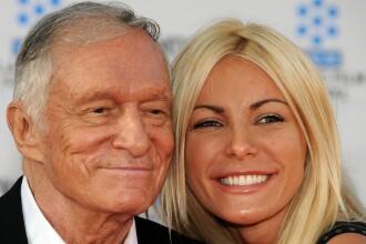 Patronul Playboy s-a casatorit de Revelion cu femeia care il parasise anul trecut