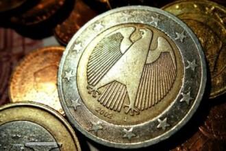 1 EURO = 4,37 LEI. Cel mai bun curs din aprilie 2012
