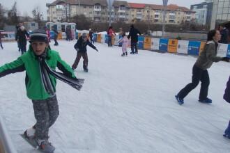 Record de patinatori in Targu Mures. Peste 30.000 de persoane au trecut pragul patinoarului din oras
