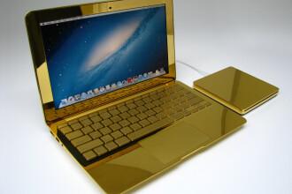 Galerie FOTO. Laptopul Apple care costa 20.000 de dolari. Aceste gadgeturi chiar sunt un lux