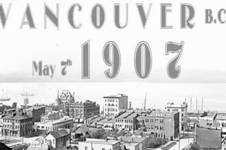 Descoperire de vis in arhiva de filme. Cum se leaga Rascoala din 1907, Vancouver si Titanicul. Video
