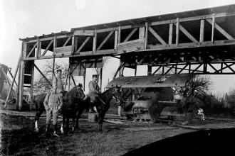 Imagini din timpul Primului Razboi Mondial, expuse la Alba