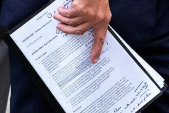 Procurorii tin la secret stadiul anchetei privind semnaturile falsificate ale lui Gheorghe Ciuhandu