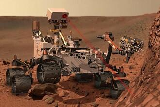 Robotul american Curiosity a descoperit, pentru prima data, dovezi de apa dulce pe Marte