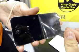 Ecranul de iPhone care nu poate fi crapat nici de o bormasina. Ce inventie a aparut la CES 2013