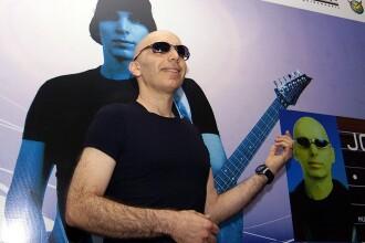 Joe Satriani, in premiera in Romania. Concert pe 20 mai la Sala Palatului din Bucuresti