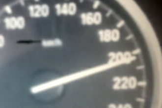 Tanar, prins circuland cu 223 km/h pe Autostrada Bucuresti - Constanta