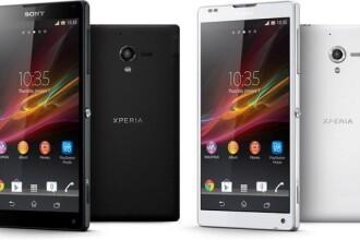 Sony Xperia ZL, un smartphone cu ecran mare si camera de 13 MP
