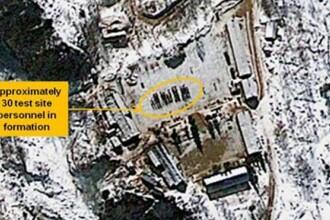 Imaginile surprinse din satelit confirma: Coreea de Nord se pregateste de un nou test nuclear