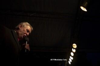 Milos Zeman, pe primul loc in scrutinul prezidential din Cehia