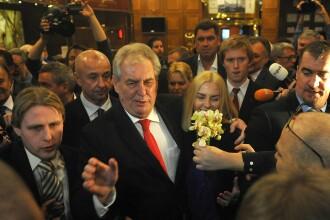 Milos Zeman, noul presedinte al Cehiei, vrea alegeri parlamentare anticipate