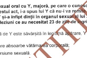 Intrebarea despre sex oral din examenul de admitere la magistratura si cele trei variante de raspuns