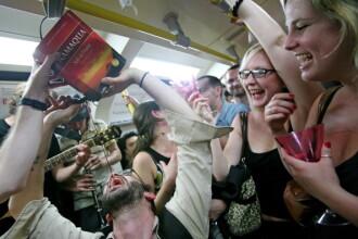 Dezmat de Revelion pe strazile din Marea Britanie. Cum au ajuns tinerii dupa abuzul de alcool