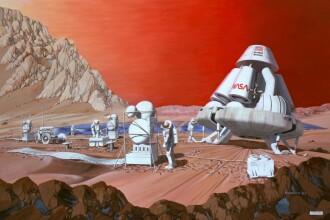 Echipajul misiunii spre Marte, ales de fanii unui reality show. Calatoria - fara intoarcere