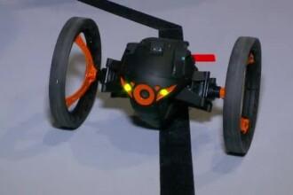Dronele au invadat CES 2014. Jucarii zburatoare, controlate de telefon sau tableta, capteaza imagini