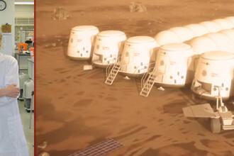 Povestea singurei romance care ar putea ajunge pe Marte. Interviu Stirile ProTV