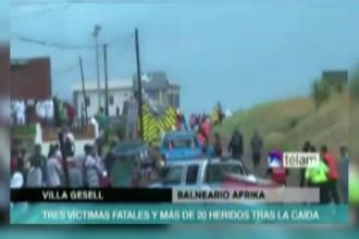 25 de oameni au fost loviti de trasnet pe o plaja din Argentina, 3 dintre ei au murit