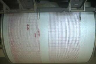 Cutremur de 3,1 pe scara Richter in Vrancea. Seismul a avut loc la o adancime de 128 de km