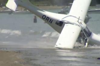 Decolare ratata. Cum au reusit pilotul si insotitorul sau sa rastoarne un avion in Noua Zeelanda