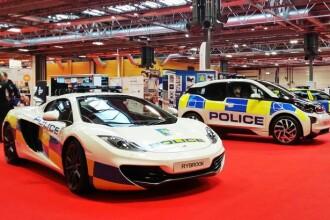 GARAJUL super-masinilor de politie din lume, unde Romania se intrece cu Germania, Anglia si Dubai