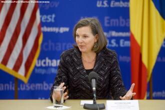 Gandul: Semnalele emisarului SUA la Bucuresti, Victoria Nuland, din spatele mesajelor diplomatice
