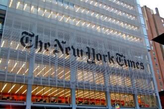 New York Times a avut o greseala pe prima pagina, in fiecare zi, timp de un secol