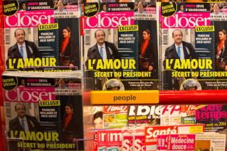 Scandalul amoros din Franta. Hollande a anuntat incetarea relatiei cu Trierweiler