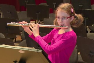 Povestea Esterei, fetita de 10 ani, comparata cu Mozart. Ce inseamna