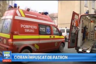 Un cioban din judetul Sibiu a ajuns la spital cu rani grave dupa ce a fost impuscat de patronul lui