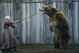 Secretele din spatele scenelor cu ursi din Game of Thrones sau Legendele Toamnei. Familia care creste vedete de 650 de kg